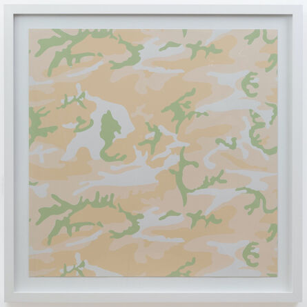 Andy Warhol, 'Camouflage TP Beige', 1987