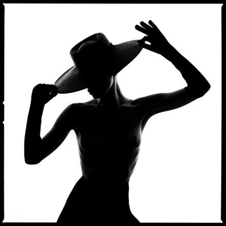 Tyler Shields, 'Hat Silhouette', 2020