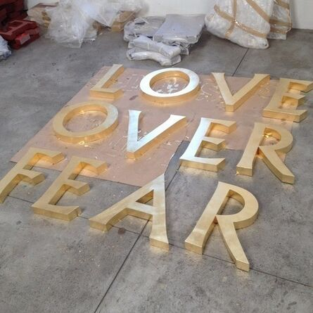 Brett Murray, 'Love Over Fear', 2017