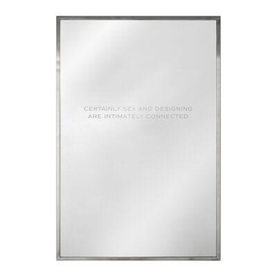 Jenny Holzer, 'Mirror (Certainly Sex)', 2018