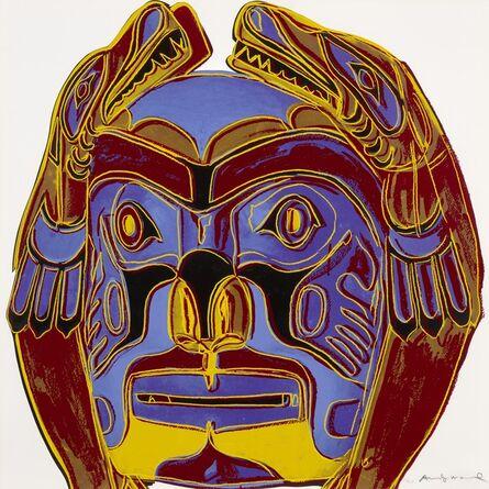 Andy Warhol, 'Northwest Coast Mask, from Cowboys and Indians (Feldman & Schellmann II.380)', 1986