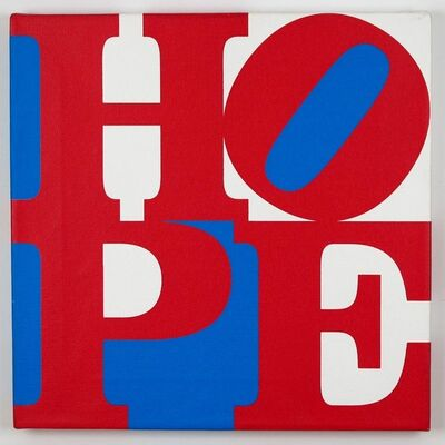 Robert Indiana, 'Red/ White/ Blue HOPE', 2008