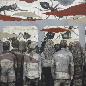 Levalet, 'La Fourmilière', 2020