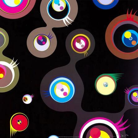 Takashi Murakami, 'Jellyfish eyes - black 2', 2004