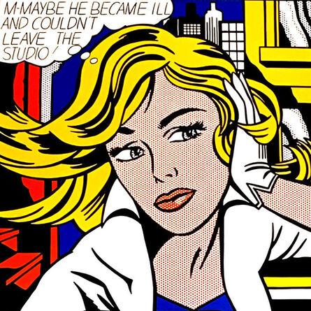 Roy Lichtenstein, 'M-Maybe he became ill', ca. 1980