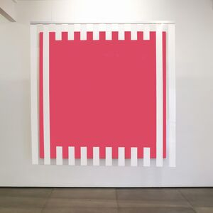 Daniel Buren, 'Colors, light, projection, shadows, transparency - Pink: situated works', 2015