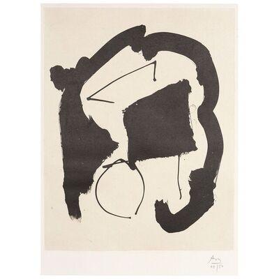 Robert Motherwell, 'Composition XXV (Octavio Paz Suite - Three Poems)', 1987