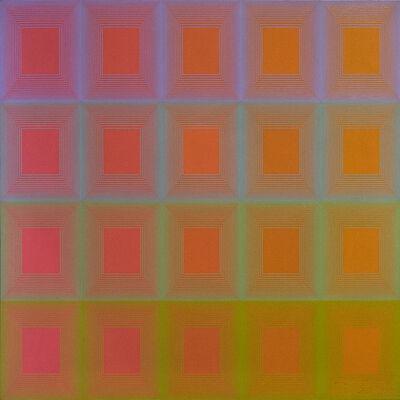 Richard Anuszkiewicz, 'Moonbow', 1968