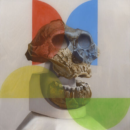 Sam Leach, 'Australopithecus and the early mind', 2014
