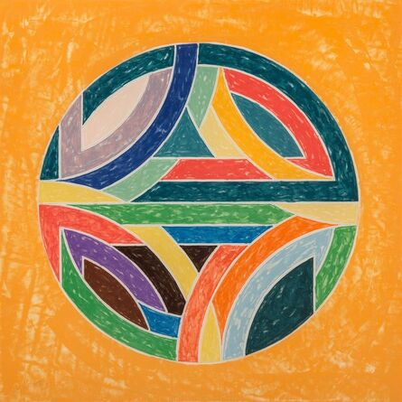 Frank Stella, 'Sinjerli Variations Squared with Colored Grounds VI', 1981