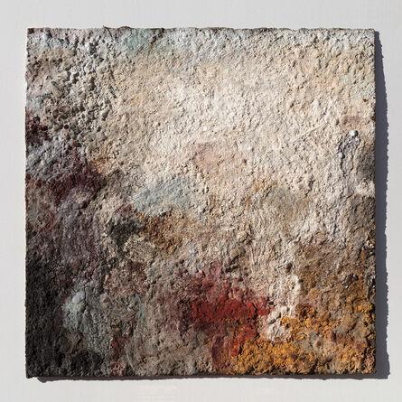 Orazio De Gennaro, 'Terra Bruciata (Scorched Earth) - Small Abstract Painting with Raw Pigments', 2017