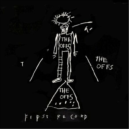 Jean-Michel Basquiat, 'The Off's First Record', 1983