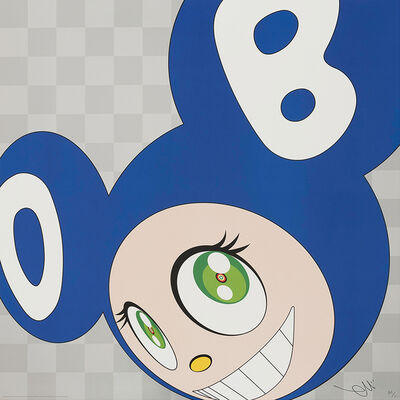 Takashi Murakami, 'And then and then and then and then and then (Blue)', 1999