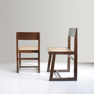 Pierre Jeanneret, 'PJ-SI-54-A Box chair', ca. 1960