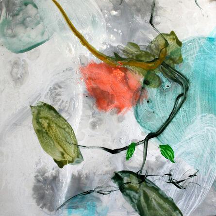 Allison Stewart, 'Aqua Flora #10'