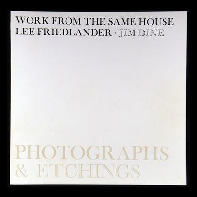 Lee Friedlander, 'Work From the Same House', 1969