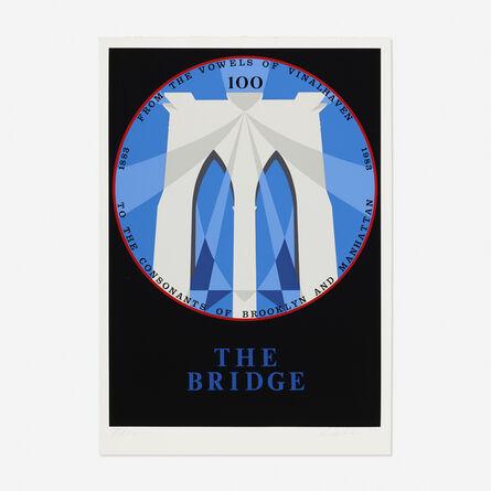 Robert Indiana, 'Brooklyn Bridge (from the New York, New York portfolio)', 1983