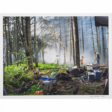 Gregory Crewdson, 'Production Still, Forest Gathering #1 from Beneath the Roses', 2003