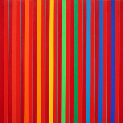 Gabriele Evertz, 'Contrast and Assimilation', 2009