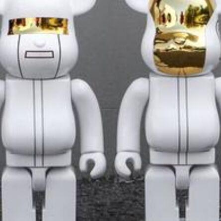 BE@RBRICK, 'Set Daft Punk RAM 400% White', 2016