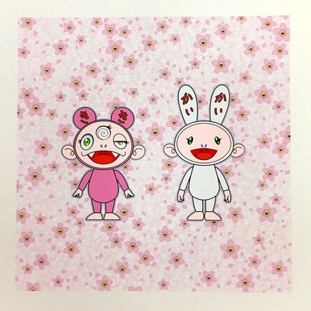 Takashi Murakami, 'Cherry blossoms bloom. Kaikai Kiki.', 2020