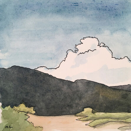 Mary Lawler, 'Foothills by St John's College, Santa Fe', 2017