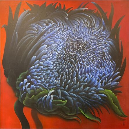 MacKenzie Thorpe, 'Self as Flower ', 2015