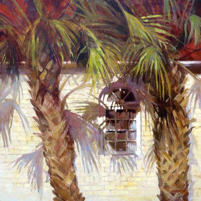 Jann Pollard, 'Palmetto Palm Shadows', 2014