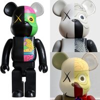 KAWS, 'KAWS Bearbrick Set of 3 (KAWS Be@rbrick 400% dissected companions)', 2008-2010
