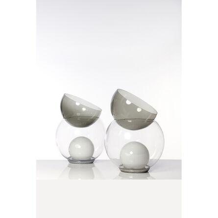 Gae Aulenti, 'Giova - Pair of table lamps', circa 1964