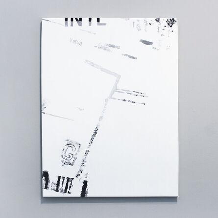 Ana Bidart, 'Pasaporte detail (blurred)', 2014