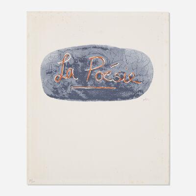 Henry Moore, 'La Poese', 1973-1975