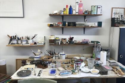 The artist's desk: artists in quarantine | RICCARDO GUARNERI @valmoreart