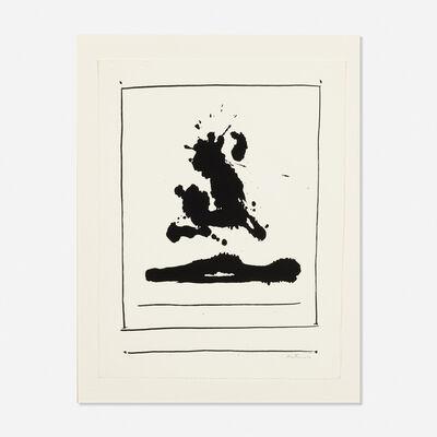 Robert Motherwell, 'Untitled from the New York International portfolio', 1966