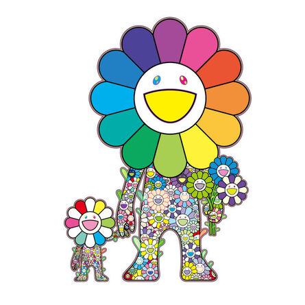 Takashi Murakami, 'Flower parent and child', 2021