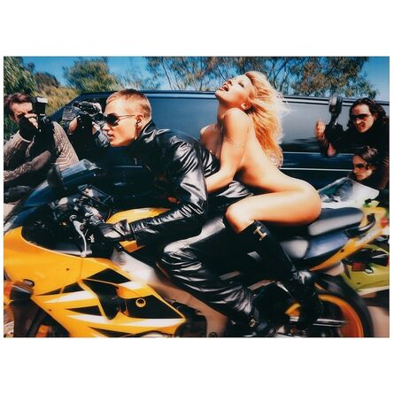 David LaChapelle, 'Pamela Anderson: Faster, Faster, I'm Almost There ', 2001