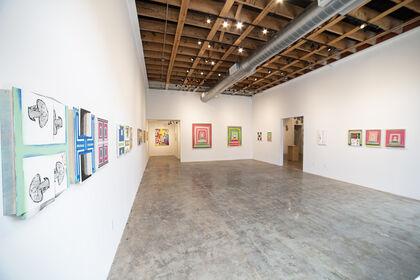 Christopher  Cascio ---Portals, Pinwheels and Process Paintings 2020-2021