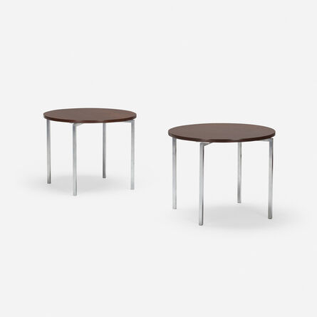 Florence Knoll, 'occasional tables, pair', c.1960