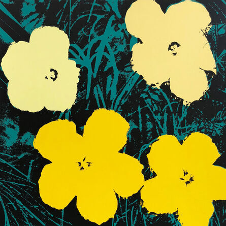 (after) Andy Warhol, 'Flowers 11.72', 1967 printed later