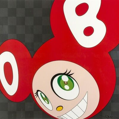 Takashi Murakami, 'And Then, And Then And Then And Then And Then (Red)', 2011