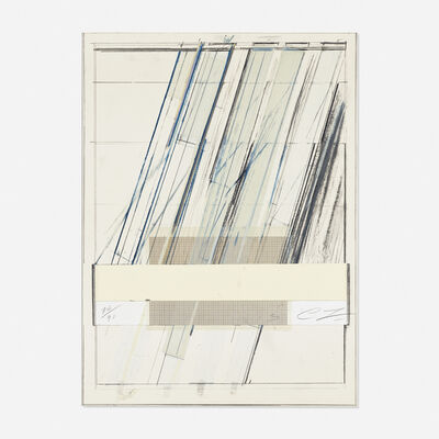 Cy Twombly, 'Untitled (From Hommage a Picasso)', 1973