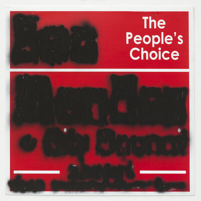 Mark Flood, 'People's Choice Mute', 2014