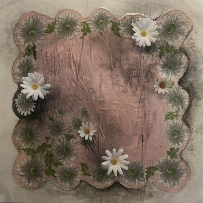 Sonya Kelliher-Combs, 'Pink With White Daisy', 2021