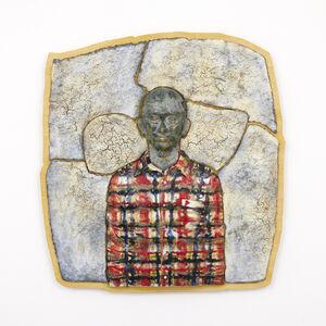 Masako Ando, 'Man in Plaid Shirt', 2021