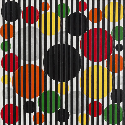 Rico Gatson, 'Untitled (Colorful Dots)', 2016