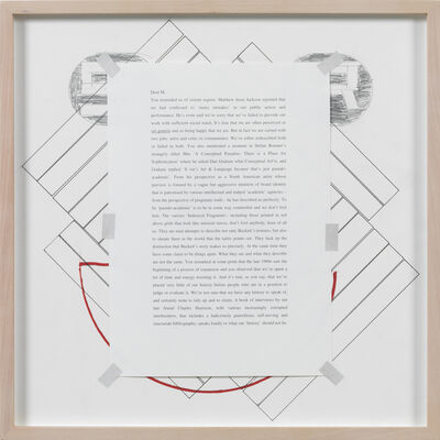 Art & Language, 'Letters to The Red Crayola III', 1990-2012
