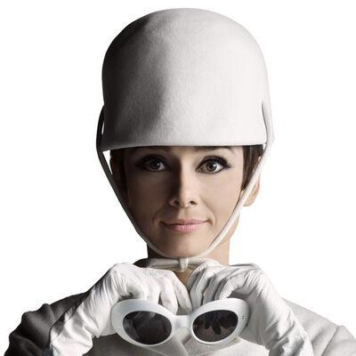 Douglas Kirkland, 'Audrey Hepburn - Glasses and Hat'