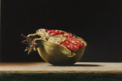 Old master-style still lifes by a young contemporary painter