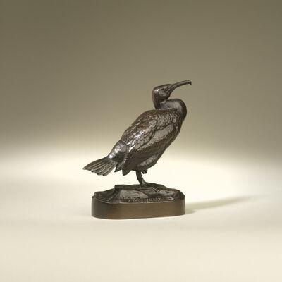 Henri-Alfred Jacquemart, 'Cormorant Bird', ca. 1870