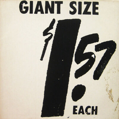 Andy Warhol, '1.57 Giant Size (F & S II.2)', 1963